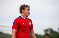 Lakewood Ranch, FL - Sunday July 23, 2017: Gregory Brigman during an international friendly match between the paralympic national teams of the United States (USA) and Canada (CAN) at Premier Sports Campus at Lakewood Ranch.