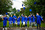 The class of 2021 of St Ita's and St Joseph's school in Tralee on Friday. L to r: Daniel Diggins, Rory Mangan, Josh Delaney, Philip Kordzinski, Ahmad Alzoubi, Niamh Cronin, Colin Wharton, Megan Lyons, Ruairi Barton.