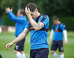 Rob Kiernan after putting in a shift at training