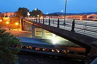The Drewery J. Brown Memorial Bridge on West Main Street photographed June 9, 2014 in Charlottesville, VA. Photo/Andrew Shurtleff