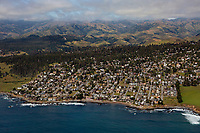 aerial photograph of Cambria, San Luis Obispo County, California