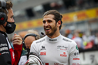 July 4th 2021; Red Bull Ring, Spielberg, Austria; F1 Grand Prix of Austria, race day;  GIOVINAZZI Antonio (ita), Alfa Romeo Racing ORLEN C41 on the grid