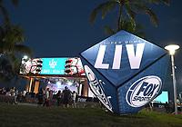 MIAMI BEACH, FL - JANUARY 30: FOX SUPER BOWL LIV ACTIVATION AT LUMMUS PARK AND FOX SPORTS SOUTH BEACH STUDIO: FOX's weeklong interactive fan experience on the beach in Miami at Lummus Park on January 30, 2020 in Miami Beach, Florida. (Photo by Frank Micelotta/Fox/PictureGroup)