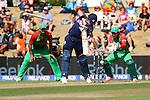 Scotland's Matt Machan at the crease. ICC Cricket World Cup 2015, Bangladesh v Scotland, 5 March 2015,  Saxton Oval, Nelson, New Zealand, <br /> Photo: Marc Palmano/shuttersport.co.nz