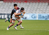 26th December 2020; Twickenham Stoop, London, England; English Premiership Rugby, Harlequins versus Bristol Bears; Marcus Smith of Harlequins making another telling tackle in the first half