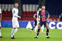incident entre Neymar Jr (PSG) et Alvaro Gonzalez (OM) <br /> 13/09/2020<br /> Paris Saint Germain PSG vs Olympique Marseille OM <br /> Calcio Ligue 1 2020/2021  <br /> Foto JB Autissier Panoramic/insidefoto <br /> ITALY ONLY