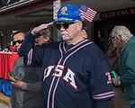 John Damon during the Veterans Day Parade in downtown Reno on Saturday, Nov. 11, 2017.