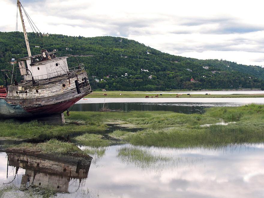 Old Stranded Boat