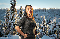 Naidene Baechler, UAA's 2020 Commencement Hooding speaker and a 2020 Arctic Indigenous Scholar.