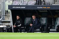 26th May 2021; STADION GDANSK  GDANSK, POLAND; UEFA EUROPA LEAGUE FINAL, Villarreal CF versus Manchester United:  Manchester United's MICHAEL CARRICK and OLE GUNNAR SOLSKJAER
