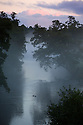 02/10/16 <br /> <br /> After a cold night dawn rises over ducks on the river Derwent on the Chatsworth Estate in the Derbyshire Peak District this morning. <br /> <br /> All Rights Reserved: F Stop Press Ltd. +44(0)1773 550665   www.fstoppress.com
