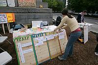 Occupons Montreal au Square Victoria, Juin 2012<br /> <br /> Photo : Agence Quebec Presse