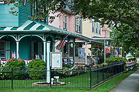 Quaint victorian houses, Cape May, NJ, USA