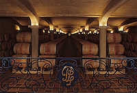 Europe/France/Aquitaine/33/Gironde/Pauillac: Chateau Pichon Longueville Comtesse de Lalande (AOC Pauillac) - Les chais