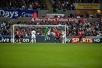 Saturday 17 August 2013<br /> <br /> Pictured: <br /> <br /> Re: Barclays Premier League Swansea City v Manchester United at the Liberty Stadium, Swansea, Wales