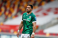 27th March 2021; Brentford Community Stadium, London, England; Gallagher Premiership Rugby, London Irish versus Bath; Curtis Rona of London Irish