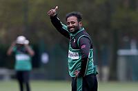 Theeban Tavarasa of Ilford during Upminster CC (batting) vs Ilford CC, Hamro Foundation Essex League Cricket at Upminster Park on 8th May 2021