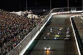Verizon IndyCar Series<br /> Bommarito Automotive Group 500<br /> Gateway Motorsports Park, Madison, IL USA<br /> Saturday 26 August 2017<br /> Honda Pace car, 3-wide parade lap<br /> World Copyright: Michael L. Levitt<br /> LAT Images