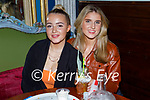 Enjoying the evening in Benners on Friday, l to r: Katelyn Horan (Castleisland) and Eimer O'Sullivan (Tralee).