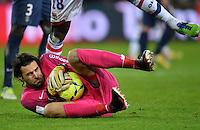 Salvatore SIRIGU (psg) .Football Calcio 2012/2013.Ligue 1 Francia.Foto Panoramic / Insidefoto .ITALY ONLY