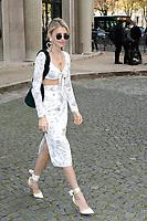 Caroline DAUR - Show MIU MIU Paris Fashion Week Womenswear Sring/Summer 2018 - 03/10/2017 - France