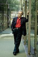 Turin, Italy, 2005. Adonis, Lebanese poet born in Siria. © Leonardo Cendamo