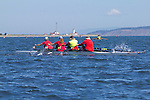 Port Townsend, Rat Island Regatta, rowers, racing, Bogaciel; Quad, Sound Rowers, Rat Island Rowing Club, Puget Sound, Olympic Peninsula, Washington State, water sports, rowing, competition,