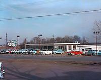 McCafferty Ford Car Dealership in 1958.