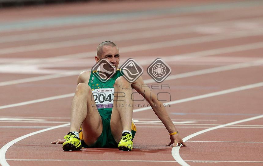 Tim Sullivan AUS Men's 400m-T38 Final, Athletics (Monday 3rd Sept) - Olympic Stadium, Paralympics - Summer / London 2012, London, England 29 Aug - 9 Sept , © Sport the library/Greg Smith