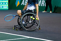 Rotterdam, The Netherlands, 9 Februari 2020, ABNAMRO World Tennis Tournament, Ahoy, Wheelchair: Joachim Gerard (BEL).<br /> Photo: www.tennisimages.com