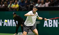 Rotterdam, The Netherlands, 14 Februari 2019, ABNAMRO World Tennis Tournament, Ahoy, quarter final, Denis Shapovalov (CAN), <br /> Photo: www.tennisimages.com/Henk Koster