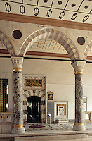 Türkei, Tor Bap-üs saadet  zum 3. Hof im Topkapi Palast(Topkapi Saray) in Istanbul , UNESCO-Weltkulturerbe