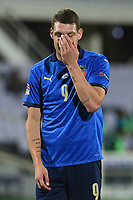 Andrea Belotti of Italy during the Uefa Nation League Group Stage A1 football match between Italy and Bosnia at Artemio Franchi Stadium in Firenze (Italy), September, 4, 2020. Photo Massimo Insabato / Insidefoto