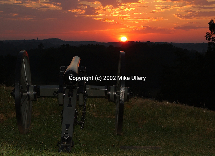 Gettysburg Military National Park, August 2002..Images taken during BK Photo and Gallery Nikon Civil War Photo Field Trip.