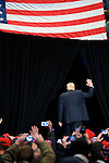President-Elect Donald Trump and Vice-President-Elect Mike Pence hold a post-election Thank You Tour event of at the Giant Center in Hershey, PA.