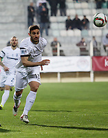 """Pictured: Sotiris Papagiannopoulos, when he played for PAOK Salonika in Greece. STOCK PICTURE<br /> Re: Swedish centre-back Sotiris Papagiannopoulos is joining Premier League side Swansea City for a trial.<br /> The 26-year-old is contracted to Swedish club Ostersunds FK, so could only sign for the Swans when the transfer window reopens in January.<br /> Swansea say Stockholm-born Papagiannopoulos will train with them for """"a few days"""".<br /> The club have a working relationship with Ostersunds, having signed forward Modou Barrow from them in 2014."""