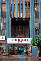 Los Angeles: Eastern Building, entrance, 849 S. Broadway, 1929.  Claude Beelman. Photo '89.