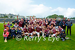 The Causeway team celebrate after defeating Kilgarvan in the Intermediate Hurling final in Fitzgerald Stadium on Sunday