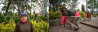 """CAJICA - COLOMBIA, 14-07-2020: """"Yo vivo a las afueras de Cajicá en una habitación que pago 120.000, no es mucho pero a mí me toca conseguirlos con esfuerzo, trabajo de lunes a sábado todo el día, yo no me pienso quedar reciclando toda la vida pero con este virus quien me va contratar"""" Marisol Perez, 53 años, es su testimonio que como la mayoría de trabajadores informales se ve obligado a salir a buscar el sustento diario para subsistir en medio de la cuarentena total en el territorio colombiano causada por la pandemia del Coronavirus, COVID-19. / """"I live on the outskirts of Cajicá in a room that pays 120,000, it is not much but I have to get them with effort, I work from Monday to Saturday all day, I do not plan to be recycling all my life but with this virus who He will hire me """"Marisol Perez, 53 years old, is her testimony that, like most informal workers, she is forced to go out to find daily sustenance to subsist in the midst of the total quarantine in Colombian territory caused by the Coronavirus pandemic, COVID-19. Photo: VizzorImage / Johan Rugeles / Cont"""