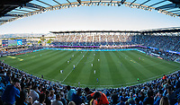 SAN JOSE, CA - JUNE 26: PayPal Park during a game between Los Angeles Galaxy and San Jose Earthquakes at PayPal Park on June 26, 2021 in San Jose, California.