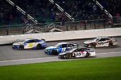#95: Matt DiBenedetto, Leavine Family Racing, Toyota Camry Digital Momentum / Hubspot, #19: Martin Truex Jr., Joe Gibbs Racing, Toyota Camry Auto Owners Insurance