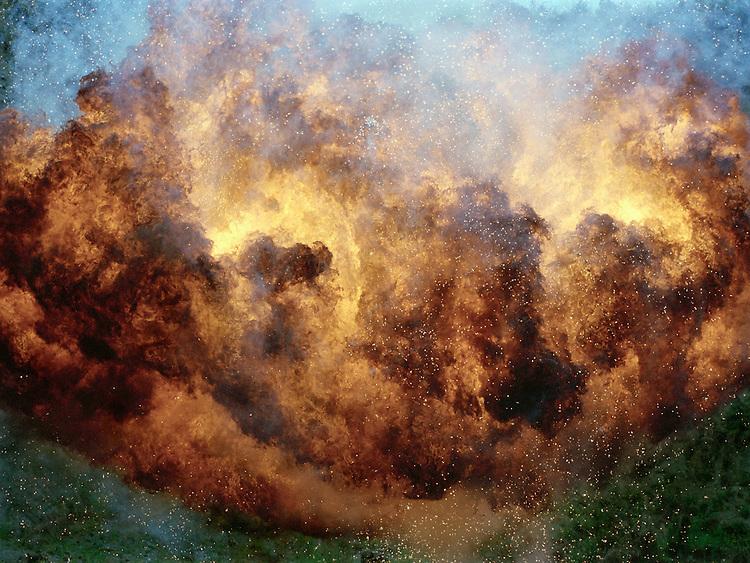 Untitled Explosion #X18CF, 2007