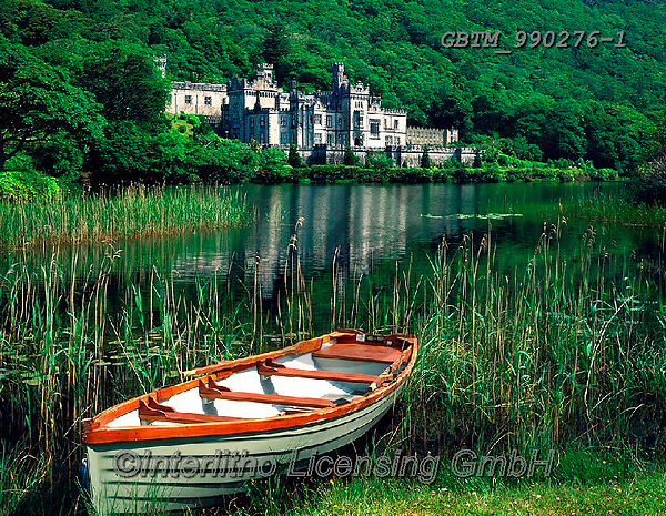 Tom Mackie, LANDSCAPES, LANDSCHAFTEN, PAISAJES, FOTO, photos,+4x5, 5x4, abbey, beautiful, beauty, boat, boats, color, colorful, colour, colourful, Eire, EU, Europa, Europe, European, fish+ing boat, horizontal, horizontally, horizontals, Ireland, Irish, lake, large format, loch,lochside, reed, reedbed, reeds, rel+igion, religious, rowboat, water, water craft,4x5, 5x4, abbey, beautiful, beauty, boat, boats, color, colorful, colour, colou+rful, Eire, EU, Europa, Europe, European, fishing boat, horizontal, horizontally, horizontals, Ireland, Irish, lake, large fo+,GBTM990276-1,#L#, EVERYDAY ,Ireland
