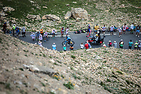 stage leader Nairo Quintana (COL/Movistar) up the Col du Galibier (HC/2622m/23km@5.1%)<br /> <br /> Stage 18: Embrun to Valloire (208km)<br /> 106th Tour de France 2019 (2.UWT)<br /> <br /> ©kramon