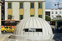 ALBANIA, Tirana , bunk art 2 museum, during Enver Hoxha communist rule about 200.000 bunker where built in Albania / ALBANIEN, Tirana, Bunk Art 2 Museum, waehrend der kommunistischen Herrschaft von Enver Hodscha wurden ca. 200.000 Bunker in Albanien gebaut