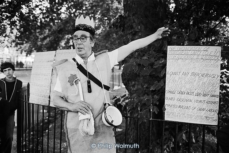 Frank, Speakers' Corner, Hyde Park, London.