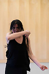Flamenco dancer Maria Pages during the presentation of the choreography of Yo, Carmen at Teatros Canal in Madrid. April 01, 2016. (ALTERPHOTOS/Borja B.Hojas)
