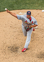 29 May 2016: St. Louis Cardinals pitcher Jonathan Broxton on the mound against the Washington Nationals at Nationals Park in Washington, DC. The Nationals defeated the Cardinals 10-2 to split their 4-game series. Mandatory Credit: Ed Wolfstein Photo *** RAW (NEF) Image File Available ***