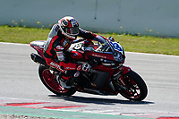 30th March 2021; Barcelona, Spain; Superbikes, WorldSSP600 , day 2 testing at Circuit Barcelona-Catalunya;   N. Tulli riding MV Augusta corse clienti from RCMV team