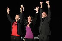 Festival des Petits Riens -<br /> Compagnie de l'Uppercut : Sandra BECHTEL, Antoine FAURE -To- et Damien NOURY